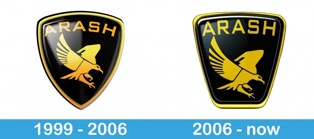 Arash Logo history